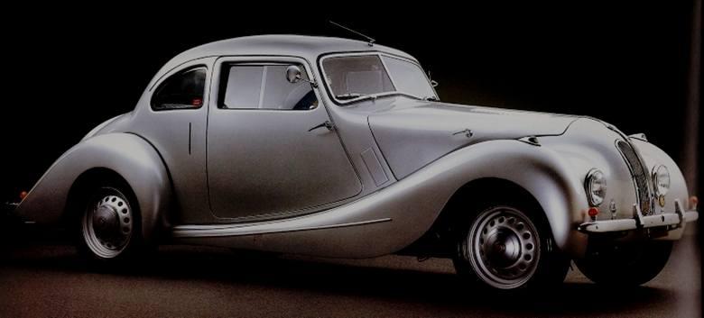 Bristol Bullet: w tym roku (podobno) w produkcji. Nazwa nawiązuje do samolotu wyścigowego Bristol Aeroplane Co. z lat 20.