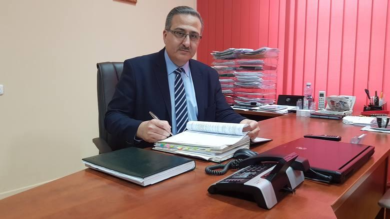 Youssef Sleiman, dyrektor Wojewódzkiego Szpitala Specjalistycznego imienia Świętego Rafała w Czerwonej Górze