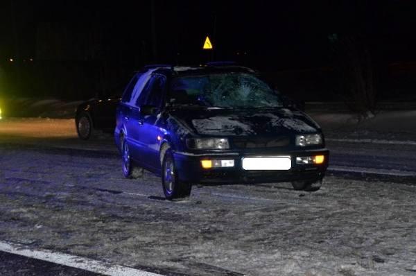 Wypadek miał miejsce  w rejonie skrzyżowania drogi K- 19 z ul. Brzostówiecką w Radzyniu Podlaskim