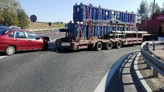 Trzy osoby ranne w wypadku w Ropczycach