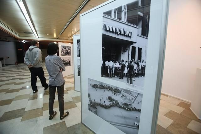 Wystawa fotograficzna z archiwów Dziennika Zachodniego pt. Deja vu?