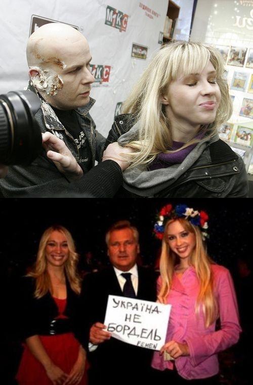 Berlusconi, Strauss-Kahn, Azarow, Putin, Łukaszenka... Nazwiska mężczyzn, którzy w jakiś sposób narazili się działaczkom FEMEN można wymieniać długo.