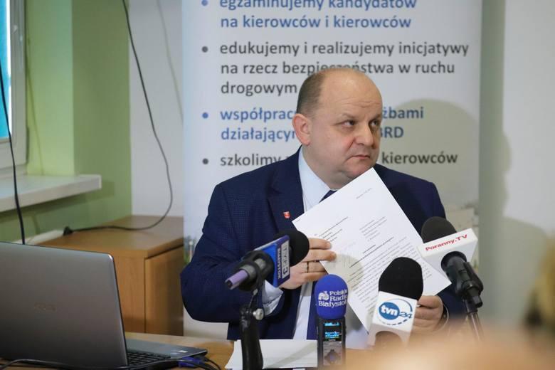 W lutym br. jego następca na fotelu dyrektor WORD w Białymstoku (Przemysław Sarosiek) zorganizował konferencję prasową, na której poinformował media o złożeniu do prokuratury i CBA zawiadomienia o możliwości popełnienia przestępstwa przez Michała Freino.