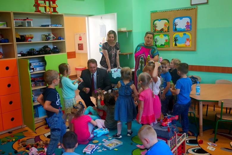 Doposażenie bodzentyńskiego przedszkola w ramach Budżetu Obywatelskiego Miasta Bodzentyn