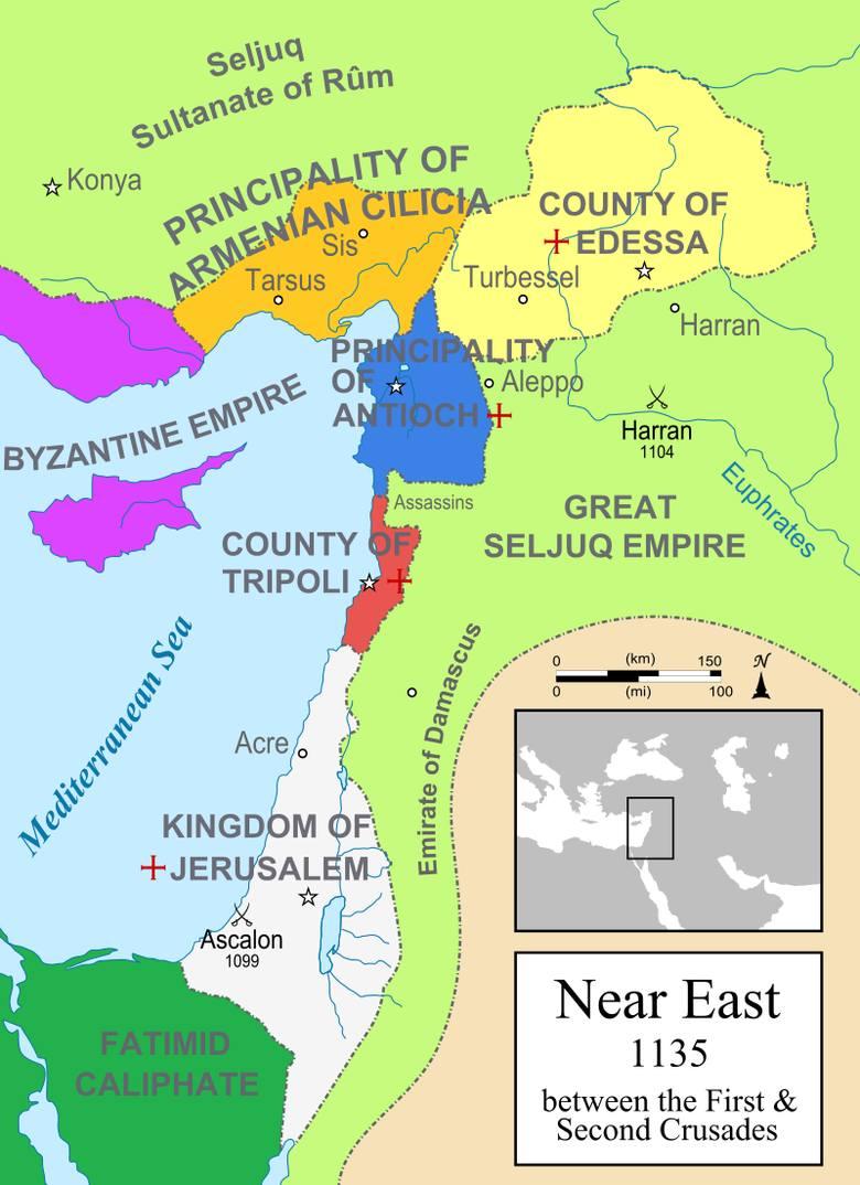 Cud w Antiochii, rzeź w Jerozolimie i pogrom pod Aszkelonem. Pierwsza wyprawa krzyżowa