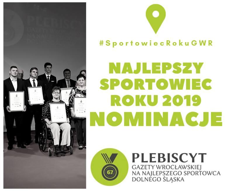 Sportowiec Roku 2019 - LISTA NOMINOWANYCH. Rok 2019 obfitował w wiele sukcesów dolnośląskich sportowców, za którymi często stali trenerzy z naszego regionu.