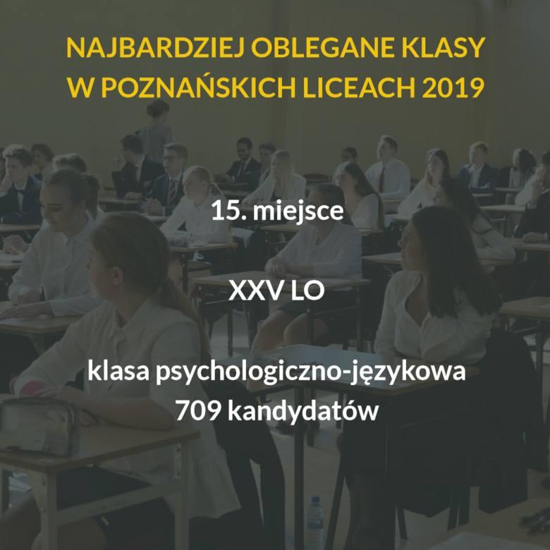 Oto najbardziej oblegane szkoły ponadgimnazjalne w Poznaniu 2019 roku. Do tych klas w poznańskich liceach kandyduje najwięcej uczniów! Sprawdź TOP 15.Przejdź