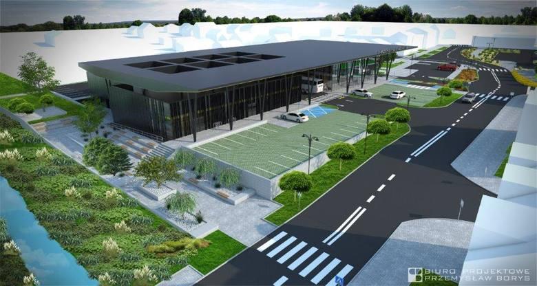 Miasto przygotowało projekt nowego dworca PKS wraz zagospodarowaniem terenu. Plany były bardzo ambitne.Zobacz też: https://wspolczesna.pl/wysokie-ma