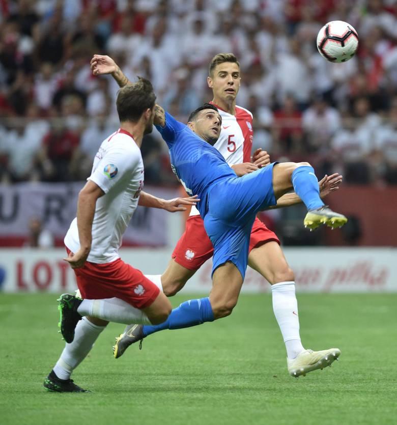 W poniedziałkowym meczu eliminacji do Euro 2020 reprezentacja Polski pokonała Izrael 4:0 po bramkach Krzysztofa Piątka, Roberta Lewandowskiego (z rzutu