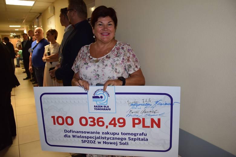 Uroczystość otwarcia tomografu w Wielospecjalistycznym Szpitalu SP ZOZ w Nowej Soli