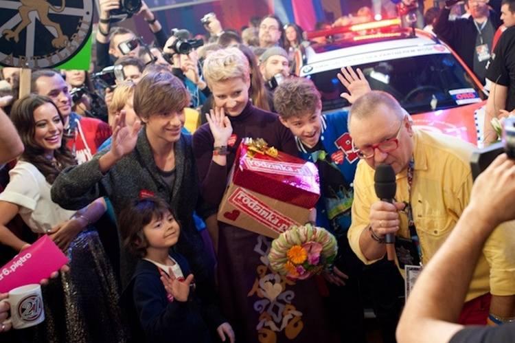 Aktorzy serialu Rodzinka.pl wspierają XXI finał WOŚP.