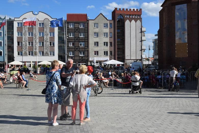 """Stary Rynek coraz częściej jest areną imprez dla mieszkańców. W tym roku odbył się tu cykl koncertów i spektakli """"Dobry wieczór, Gorzów""""."""