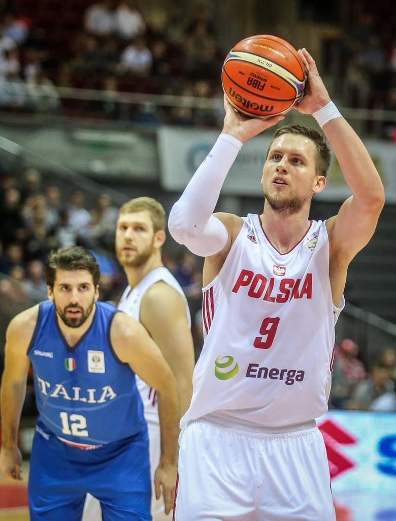Mateusz Ponitka, jak na lidera przystało, prowadził grę Polaków w meczu z Rosją