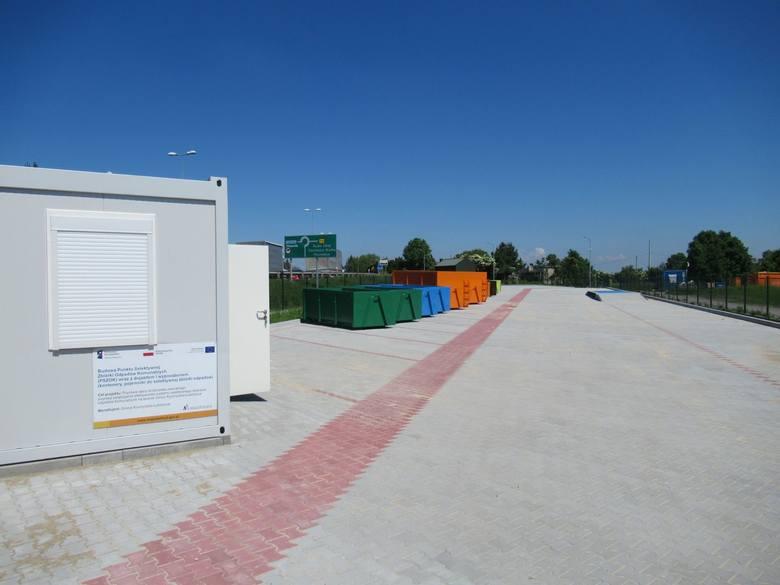 Kocmyrzów-Luborzyca. Dzisiaj (wtorek) przywrócono funkcjonowanie Punktu Selektywnej Zbiórki Odpadów Komunalnych. Wstęp dla dwóch osób.