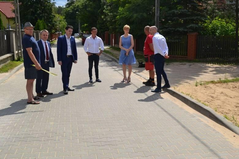 Ulica Na Polance odebrana od wykonawcy