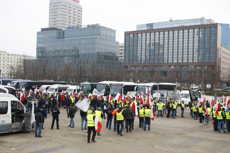Protest rolników w Warszawie. Oblężenie stolicy