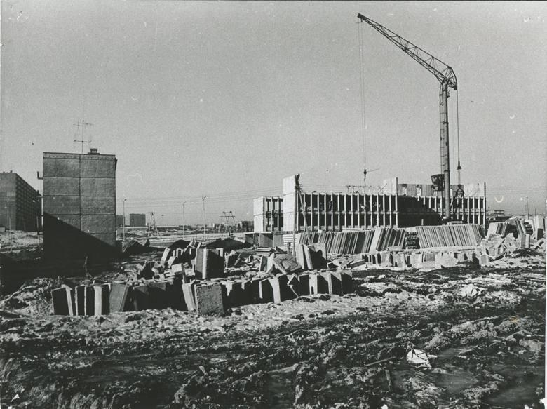 LSM w budowie.
