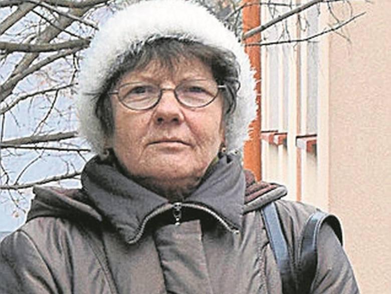 Maria Ostrowska, która mieszka przy ul. Pięknej, nie wierzy, że program coś zmieni