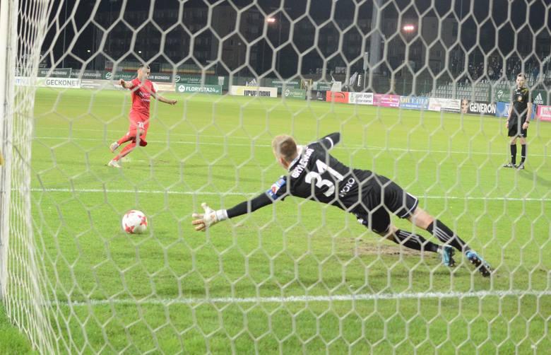 Tak Olimpia walczyła w 1. rundzie Pucharu Polski z Zagłębiem Sosnowiec.