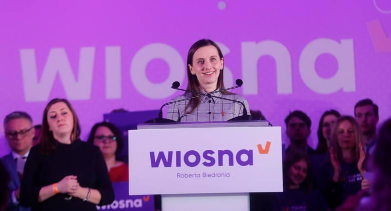 Sylwia Spurek w październiku ogłosiła, że rezygnuje z członkostwa w Wiośnie Roberta Biedronia. To z list tej partii w maju 2019 r. zdobyła mandat europosłanki z Wielkopolski.