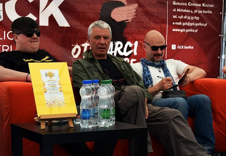 Andrzej Stasiuk i zespół Haydamaky opowiadali o tym, jak powstawał ich wspólny muzyczny krążek
