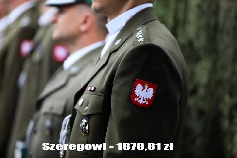Emerytury wojskowe - przeciętna wysokość