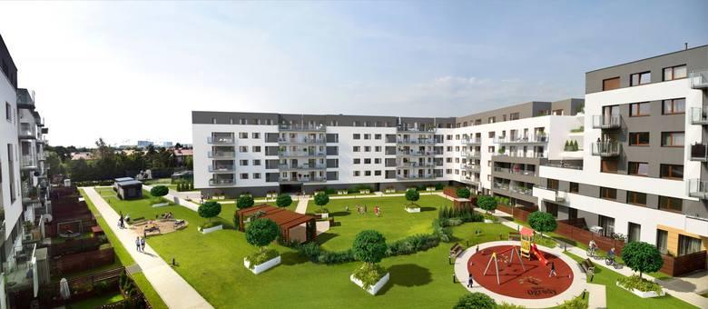 IV etap budowy zostanie oddany do użytku pod koniec tego roku. Zostały wolne 42 mieszkania.<br /> <br /> <strong>Przejdź do kolejnego zdjęcia ---></strong><br /> <br />