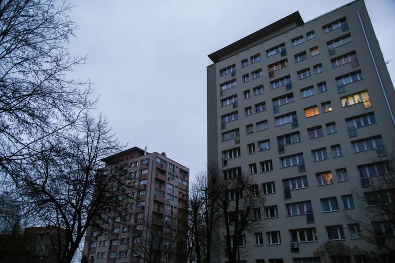 Blok, w którym doszło do tragedii.