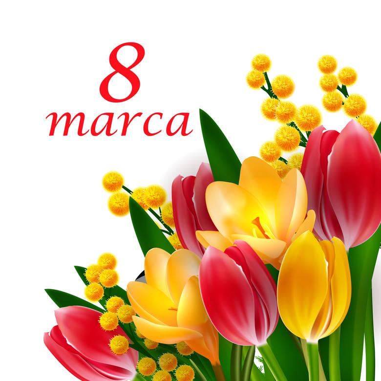 życzenia Na Dzień Kobiet 8 Marca 2019 Najpiękniejsze