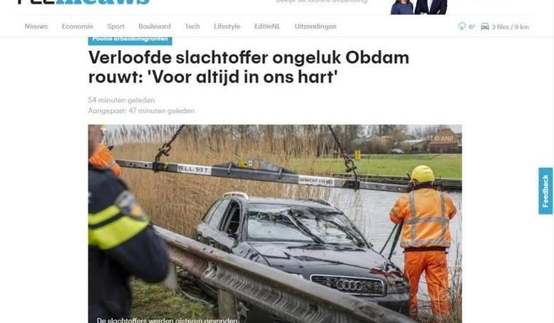Oficjalnie: Trzy ofiary wypadku w Holandii były z województwa lubelskiego
