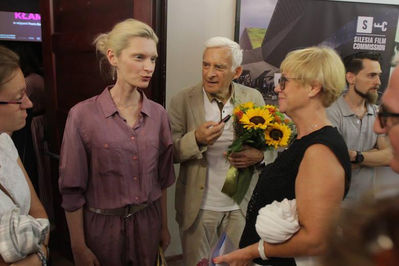 """Śląska premiera filmu """"Ja teraz kłamię"""" w Kinoteatrze Rialto. Gościem była m.in. Agata Buzek, odtwórczyni jednej z głównych ról"""