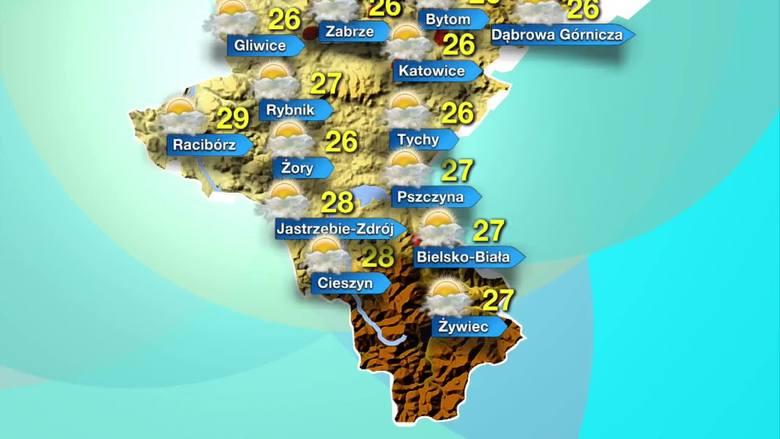 Prognoza pogody na 24 lipca