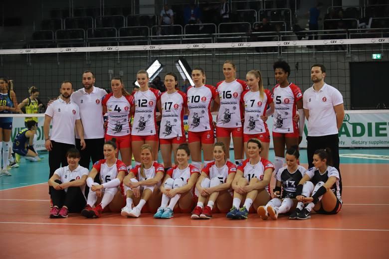 Siatkarska Liga Mistrzyń. ŁKS Commercecon bez punktu w straciu z włoskim zespołem