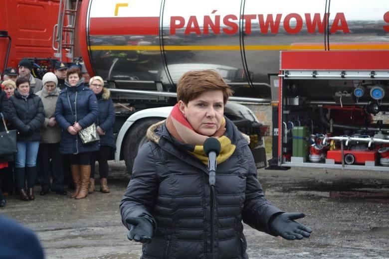 Wodociąg w Koniecpolu wciąż nieukończony. Beata Szydło nie czuje się odpowiedzialna za taki stan rzeczy