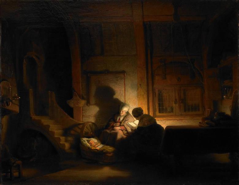 Bartolomé Esteban Murillo - pokłon Trzech Króli przed Dzieciątkiem Jezus i Maryją