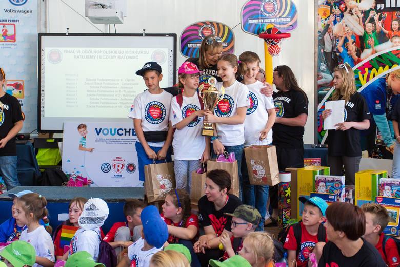 WOŚP 2017. Rozdanie nagród w konkursie pierwszej pomocy