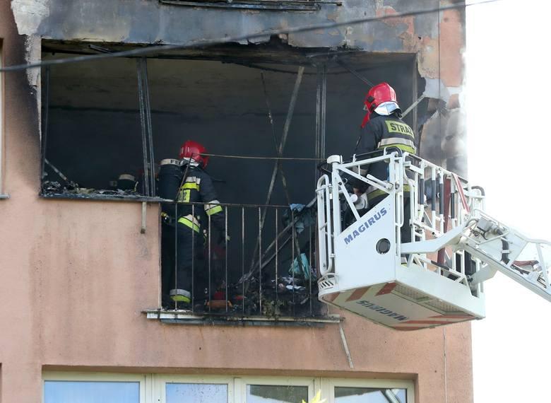 To był wybuch, czy go nie było - skąd pożar na Niebuszewie