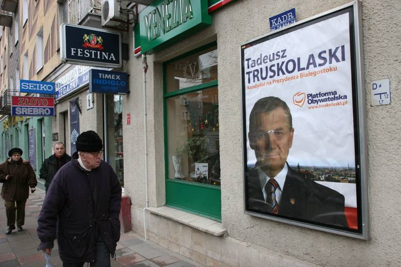 Plakat wyborczy Tadeusza Truskolaskiego - 2007 rok