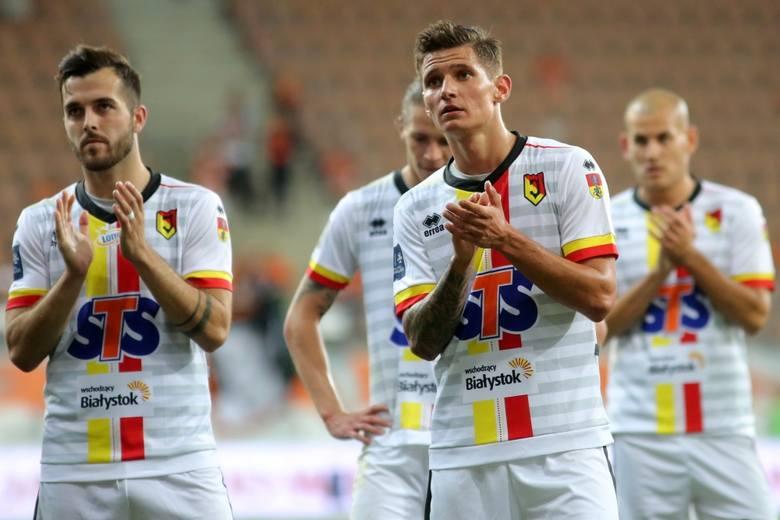 Oceniamy piłkarzy Jagiellonii Białystok po remisie 2:2 z Zagłębiem Lubin [GALERIA]