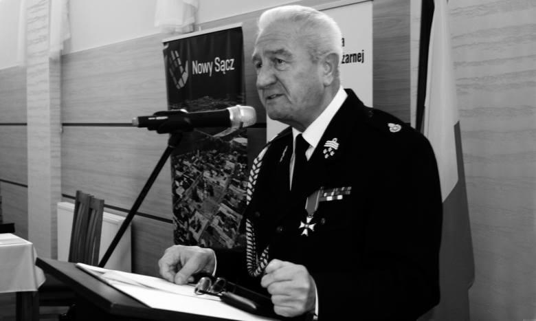 Zmarł Antoni Bienias - strażak jakich mało