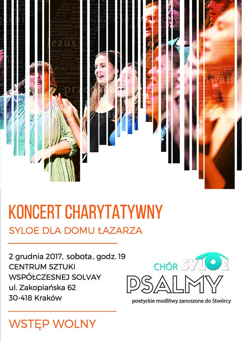 Kraków. Koncert charytatywny na rzecz Domu Łazarza