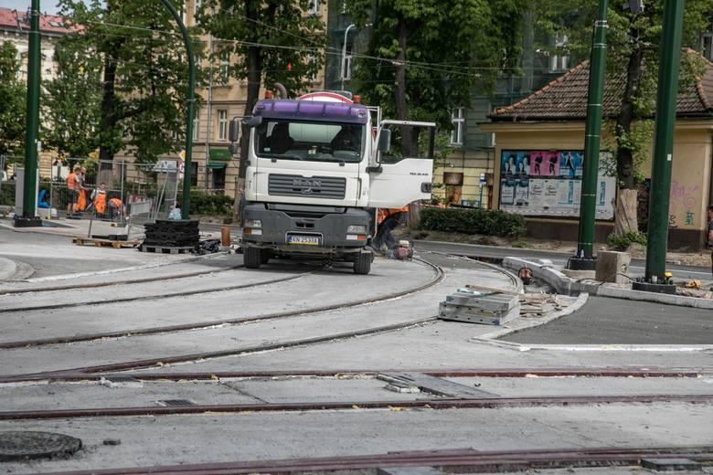 Kraków. Pandemia nie powstrzymała inwestycji. Wszyscy wykonawcy są na budowach. Będą zmiany w ruchu na ulicy Dietla