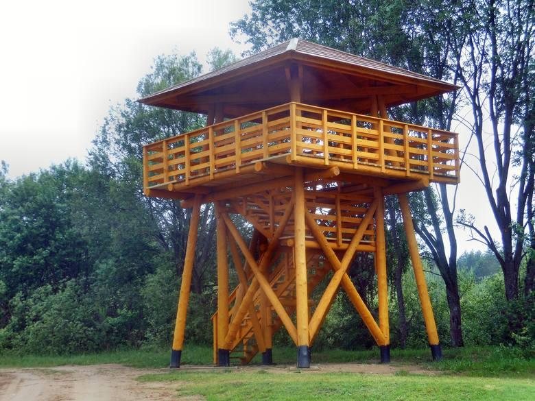Wieża widokowa w gminie Narewka