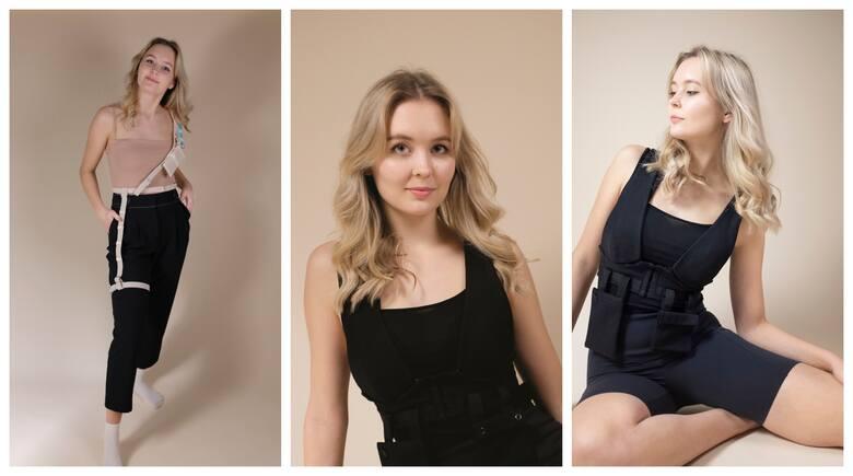 """Iga Puzdrowska, 23-latka z Torunia, w ramach dyplomu na kierunku Wzornictwo Przemysłowe, stworzyła """"Negliż"""", czyli etyczną markę bieliźnianą. To marka dla wszystkich kobiet, przy czym jej istotnym założeniem było uwzględnienie potrzeb użytkowniczek z dolegliwościami zdrowotnymi, takimi jak..."""