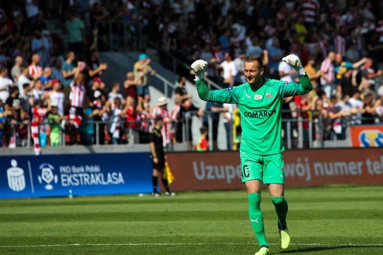 Bramkarz - Michal PeskoviĆ (Cracovia)Trudno sobie wyobrazić jedenastkę bez niego. Jeden z najlepszych piłkarzy Cracovii. Wiosną udowodnił, że należy