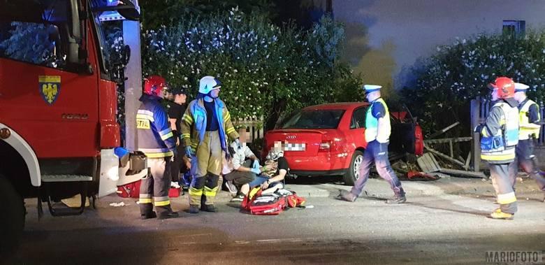 Wypadek na skrzyżowaniu ulicy Grabowej z Pużaka w Opolu. Z relacji świadków wynika, że kierująca fordem 21-letnia kobieta, wyjeżdżając z ulicy Grabowej,