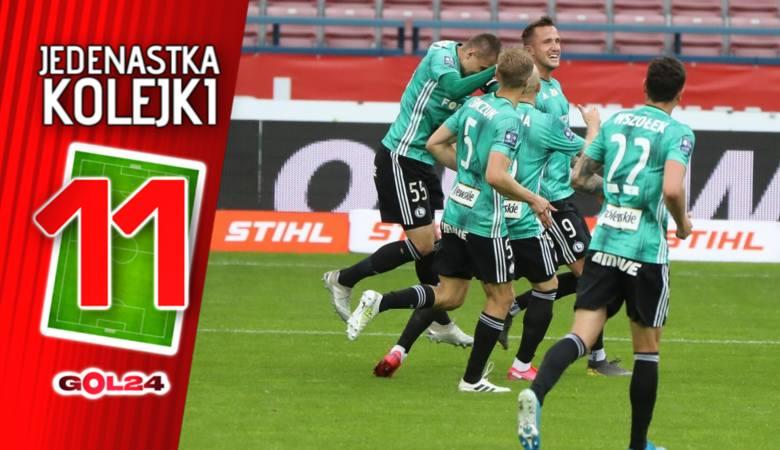 Za nami jedna z ostatnich kolejek w fazie zasadniczej. Wyniki swoich meczów odwróciły drużyny z czołówki: Legia Warszawa i Piasta Gliwice. Przełamać