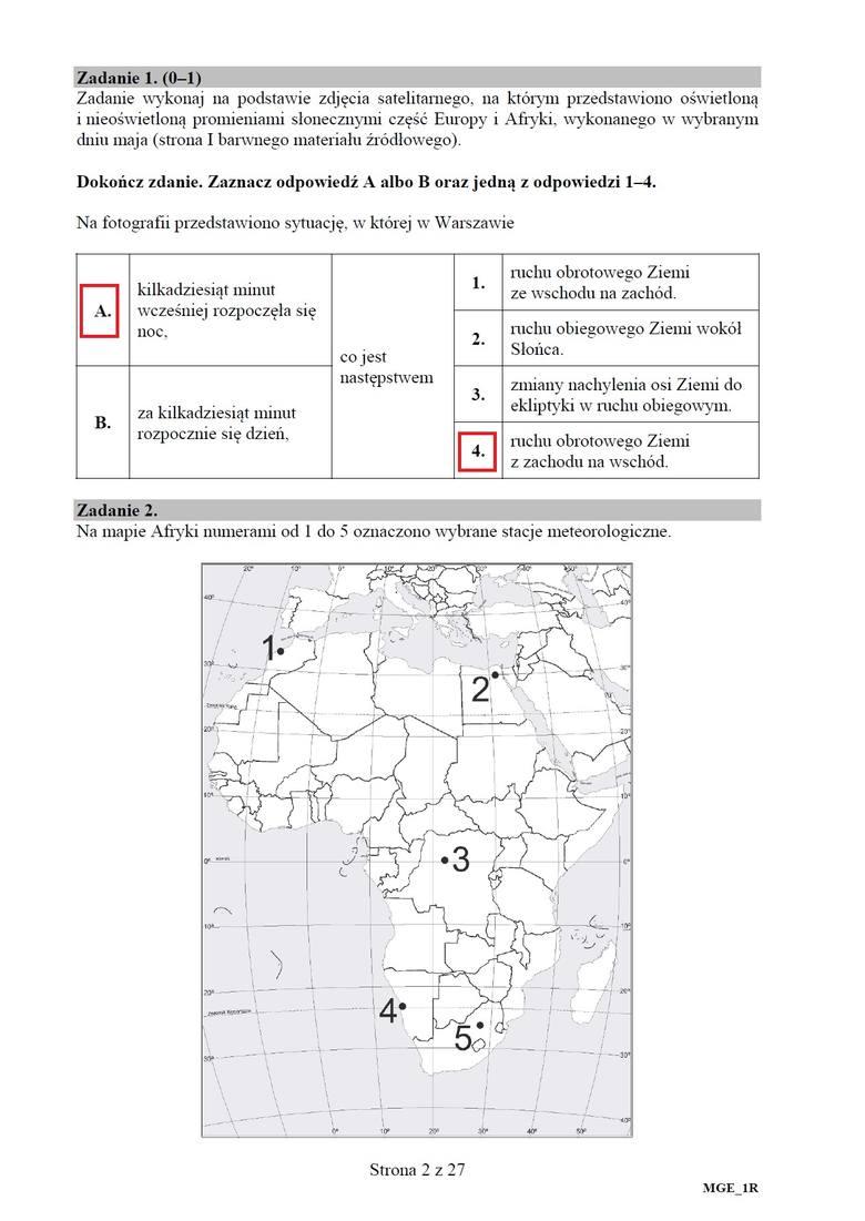 Matura 2020 geografia rozszerzenie. Odpowiedzi, arkusz CKE. Co było na egzaminie z geografii na poziomie rozszerzonym 19.06.2020? ARKUSZ