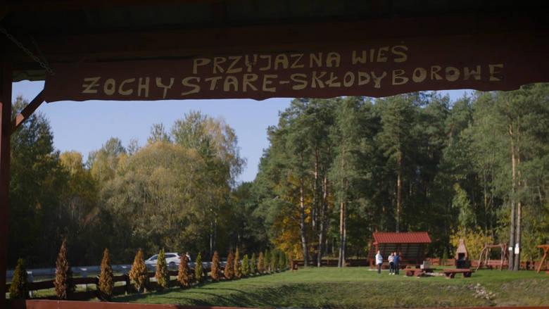 Mieszkańcy wsi Stare Żochy na nic nie narzekają. Chwalą dobre, asfaltowe drogi