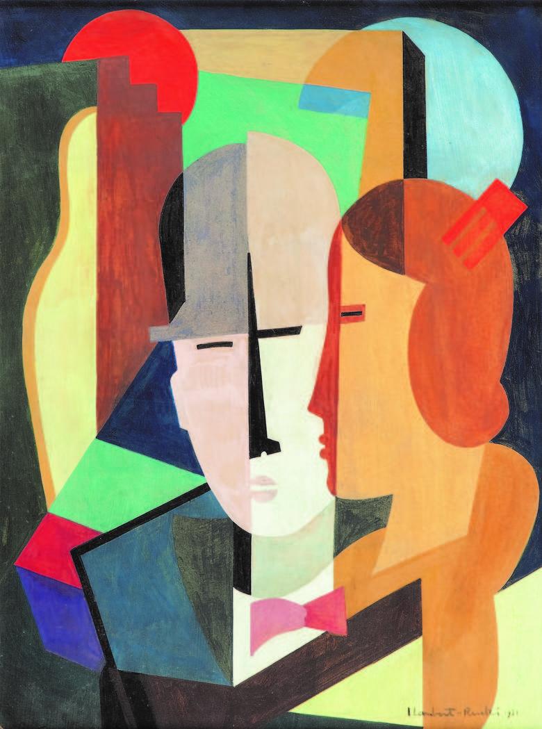 Jean Lambert-Rucki, Para, 1931, olej na płycie